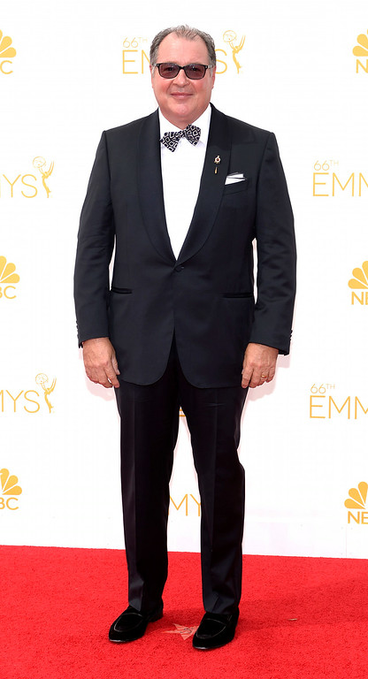 . Kevin Dunn on the red carpet at the 66th Primetime Emmy Awards show at the Nokia Theatre in Los Angeles, California on Monday August 25, 2014. (Photo by John McCoy / Los Angeles Daily News)