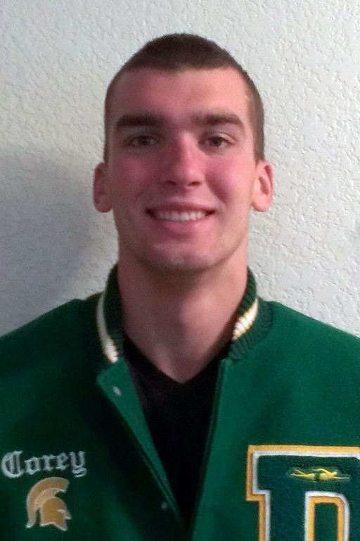 . Tribune all-area swimmer Cory Maier, of Damien High School. HAND-IN: 6-1-13