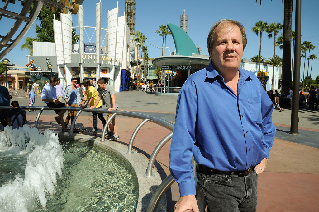 . John Simones is one of the lead architects with Jerde Partnership Inc., the architectural firm that designed Universal CityWalk. Friday, June 28, 2013. (Michael Owen Baker/L.A. Daily News)