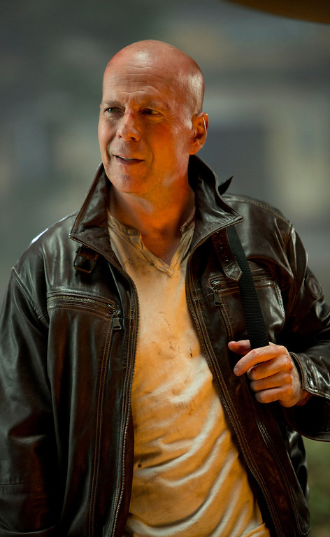 ". ""A Good Day to Die Hard\"" movie starring Bruce Willis as New York City Detective John McClane is released on January 31, 2013."