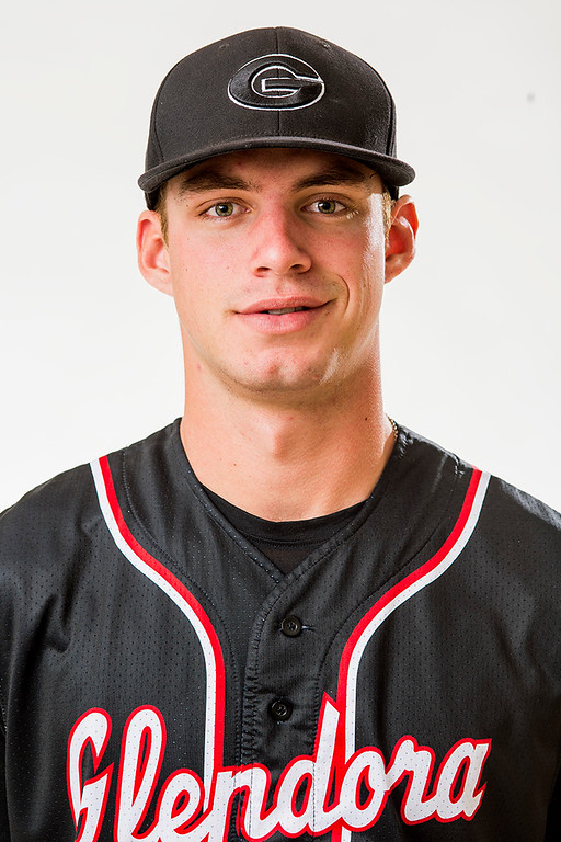 . Glendora High\'s DJ Peters has been selected for the SGV Tribune\'s All-area Baseball Team June 10, 2014.   (Staff photo by Leo Jarzomb/San Gabriel Valley Tribune)