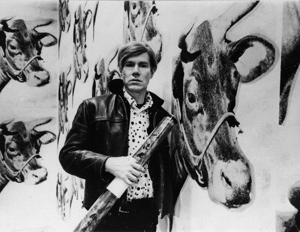 . Pop artist Andy Warhol is seen, Nov. 12, 1969.  (AP Photo)