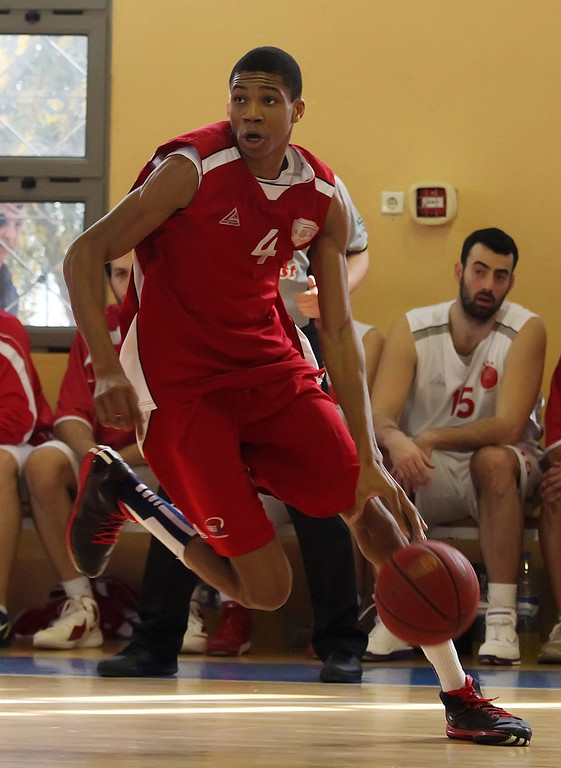 . <b>15. Milwaukee - Giannis Antetokounmpo </b> <br />6-9, 215 Small forward, Greece  (AP Photo)