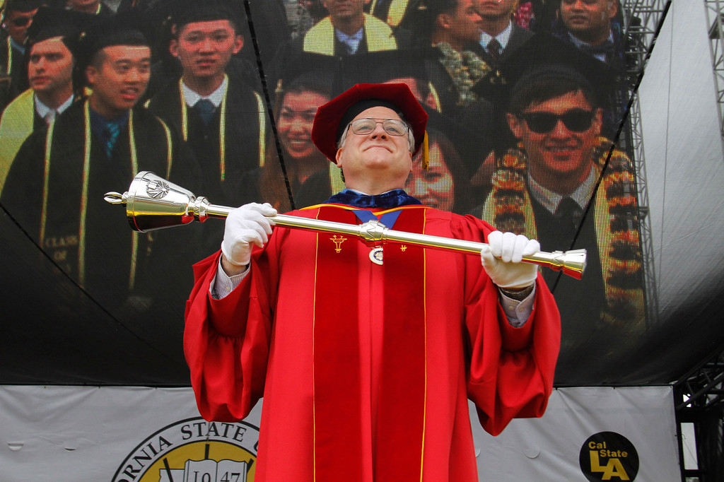 . California State University, Los Angeles, Sixty-Sixth Graduate and Undergraduate Commencement Ceremony, at California State University Athletic Stadium, in Los Angeles, Saturday, June 15, 2013. (Correspondent Photo by James Carbone/SXCITY)