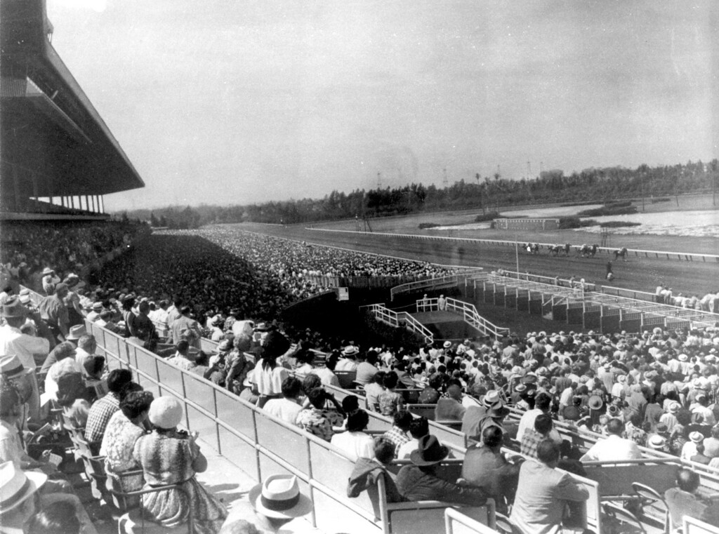 . Opening Day at Hollywood Park in 1938.   (Los Angeles Daily News file photo)