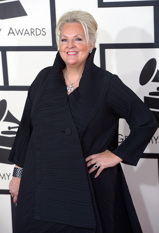 . Linda Watson arrives at the 56th Annual GRAMMY Awards at Staples Center in Los Angeles, California on Sunday January 26, 2014 (Photo by David Crane / Los Angeles Daily News)