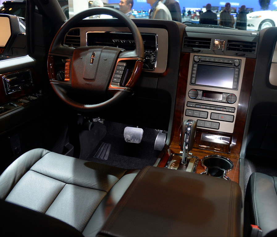. Nov 22,2013 Los Angeles CA. The new 2014 Lincoln navigator 4x4 on displays during the 2nd media day at the Los Angeles Auto Show.The show opens today Friday and runs through Dec 1st. Photo by Gene Blevins/LA Daily News