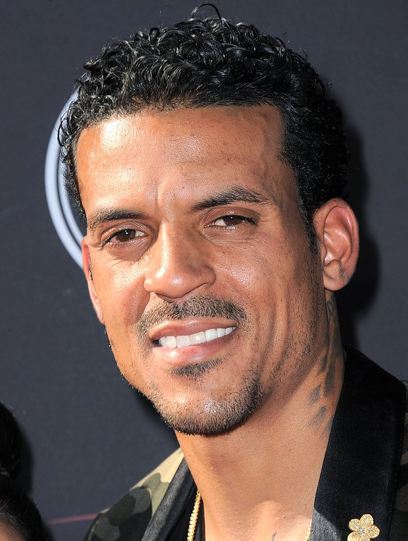 . NBA player Matt Barnes arrives at the ESPY Awards on Wednesday, July 17, 2013, at Nokia Theater in Los Angeles. (Photo by Jordan Strauss/Invision/AP)