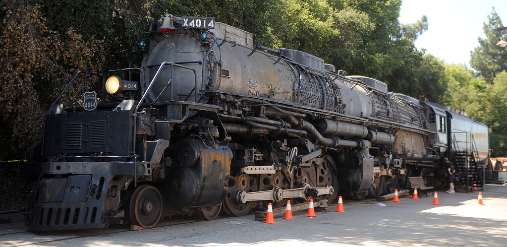 ". The Union Pacific ""Big Boy\"" during the 91st Annual L.A. County Fair in Pomona, Calif. on Thursday, Sept. 5, 2013.   (Photo by Keith Birmingham/Pasadena Star-News)"