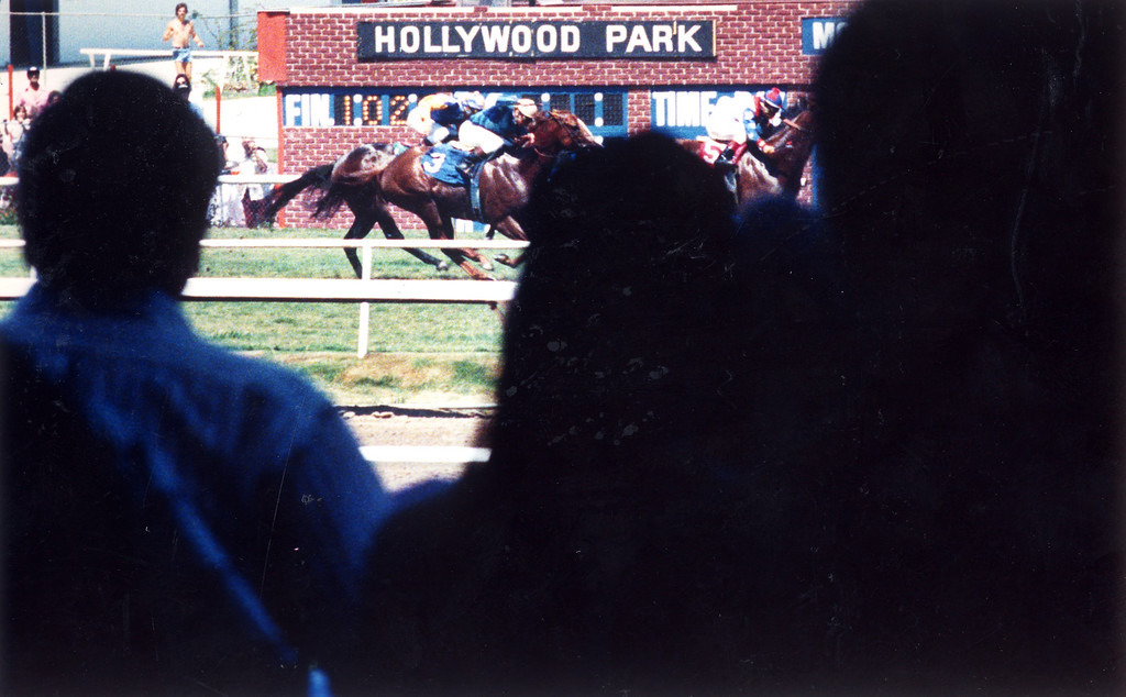 . Hollywood Park on July 21, 1986.   (Los Angeles Daily News file photo)