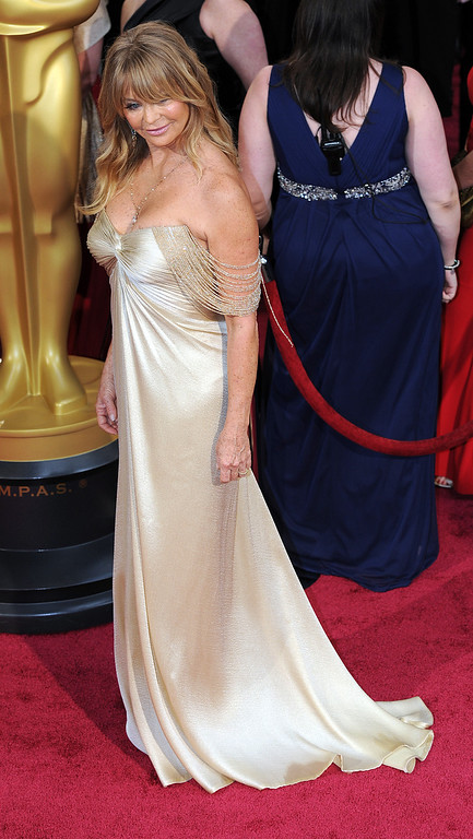 . Goldie Hawn attends the 86th Academy Awards at the Dolby Theatre in Hollywood, California on Sunday March 2, 2014 (Photo by John McCoy / Los Angeles Daily News)