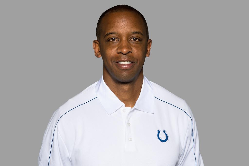 . <b>Pep Hamilton</b> <br />Offensive coordinator, Indianapolis Colt  (May 10, 2013) (AP Photo)