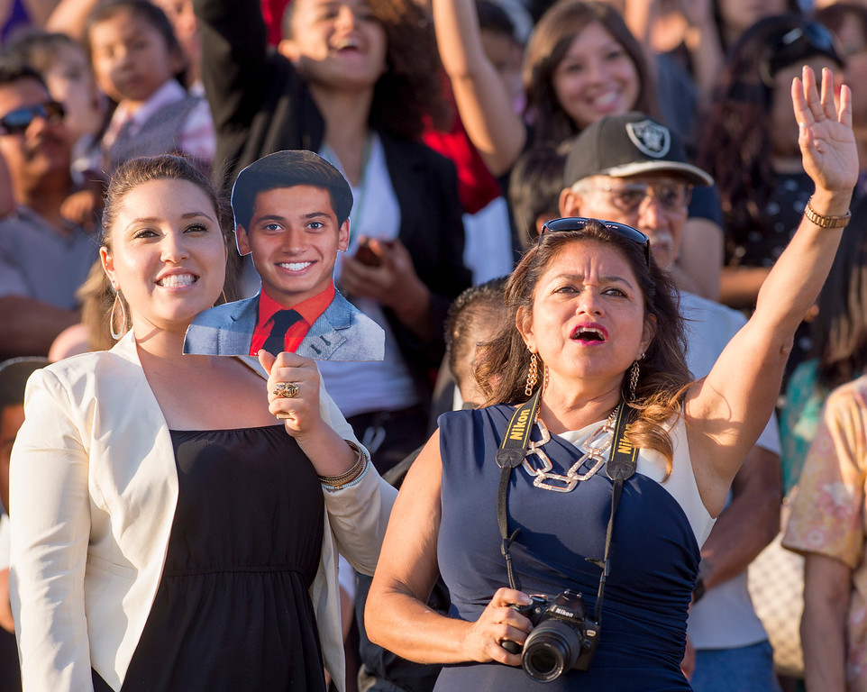 . California High graduation at their Whittier campus stadium June 13, 2013.   (SGVN staff photo by Leo Jarzomb)