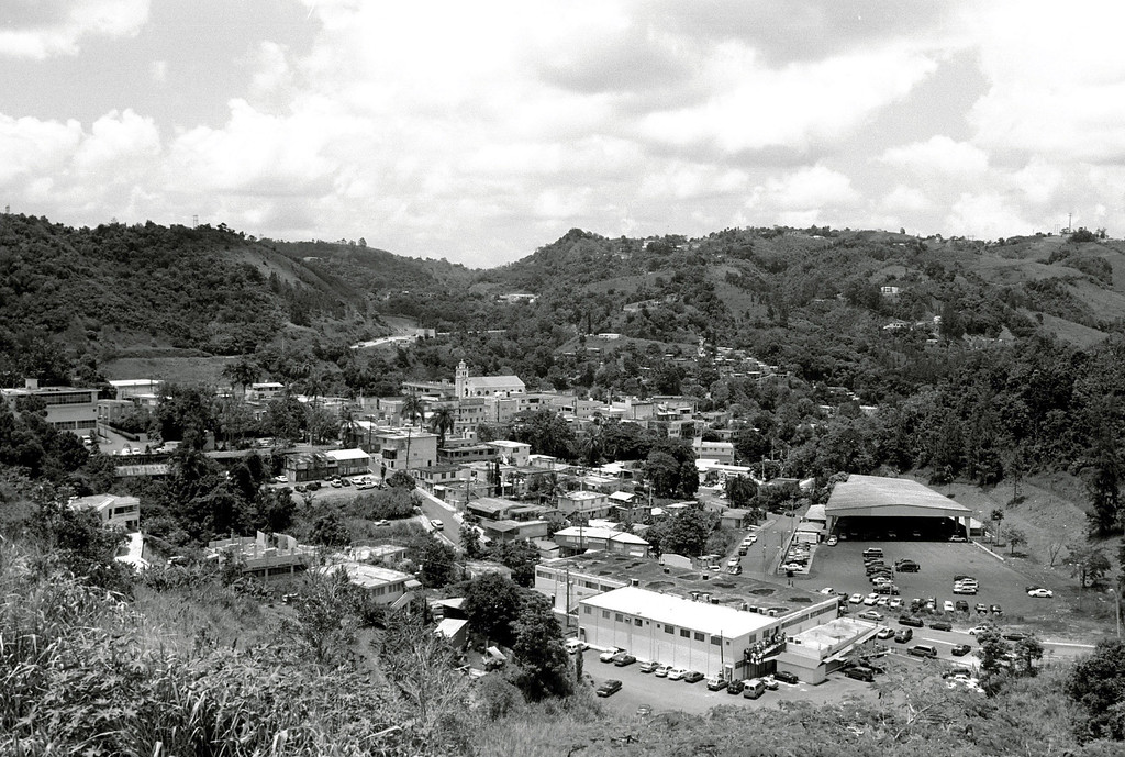 . The central mountain town of Barranquitas, Puerto Rico, where agriculture is still the main economy is seen July 19, 2002. In its 50 years as a U.S. commonwealth, Puerto Rico has been transformed from an island driven mainly by agriculture to an industrialized society of supermarkets, highways and high-rises, though some areas like Barranquitas have still remained largely unchanged. (AP Photo/Ricardo Figueroa)