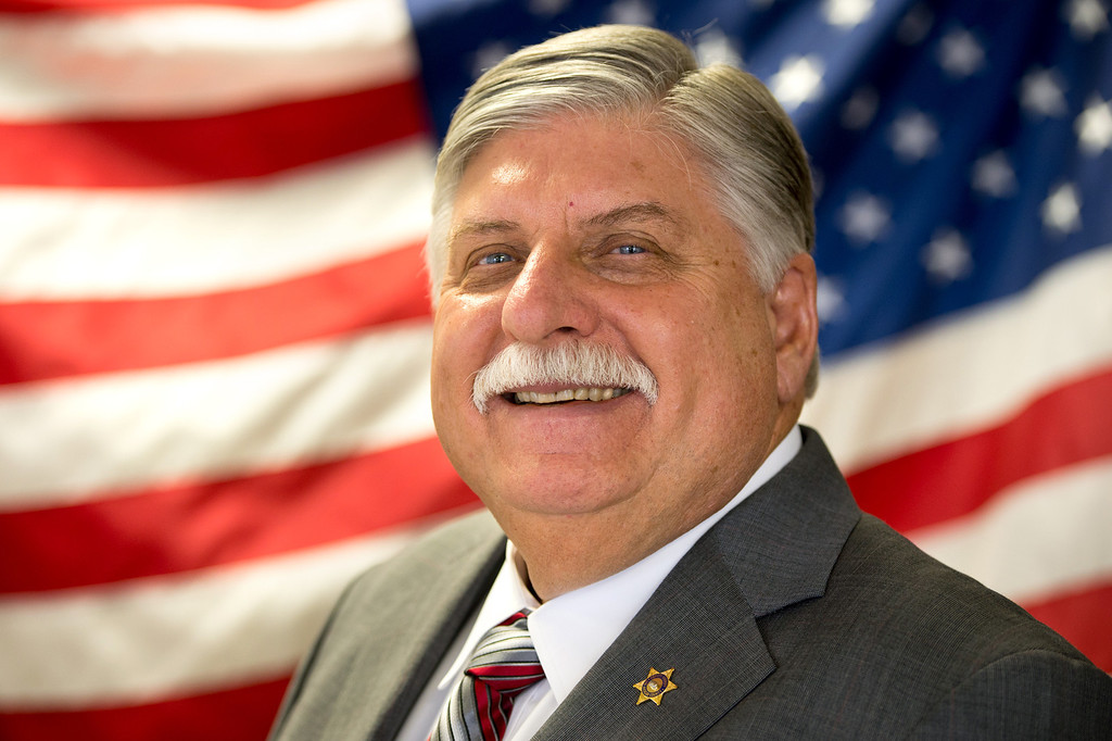 . L.A. County Interim Sheriff John Scott took over after Lee Baca\'s unexpected retirement Jan. 30. (Photo by Michael Owen Baker/L.A. Daily News)