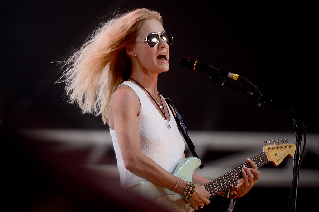 . Shelby Lynne performs during the first day of Stagecoach Country Music Festival in Indio, Friday, April 25, 2014. (Photo by Sarah Reingewirtz/Pasadena Star-News)
