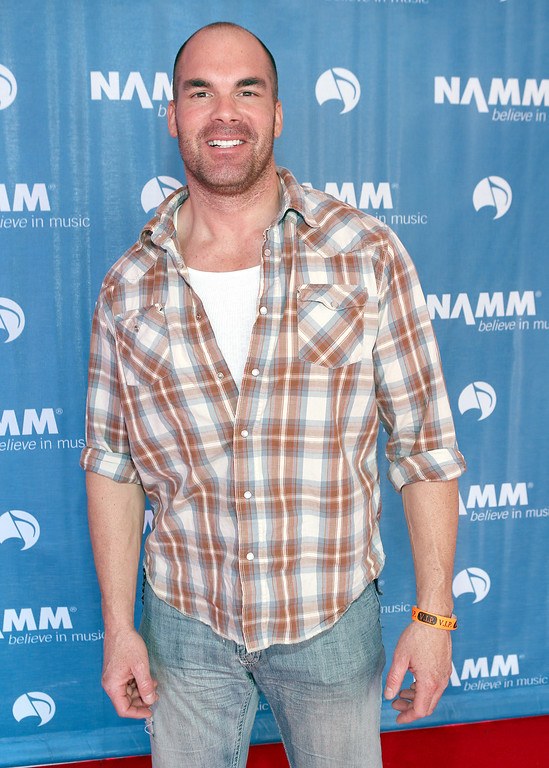 . ANAHEIM, CA - JANUARY 23:  Actor Brandon Molale attends the 2014 National Association of Music Merchants show at the Anaheim Convention Center on January 23, 2014 in Anaheim, California.  (Photo by Jesse Grant/Getty Images for NAMM)