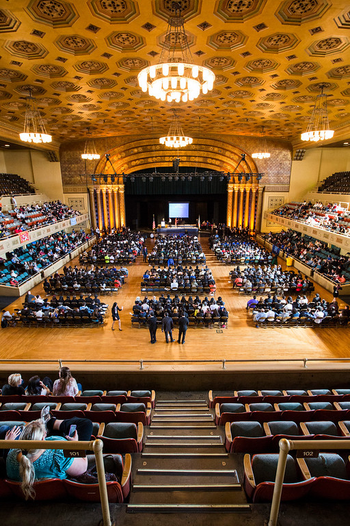 . The 35th annual California Academic Decathlon Awards Ceremony at the Memorial Auditorium in Sacramento, California, U.S., on Sunday, March 23 2014. Ken James/LA Daily News