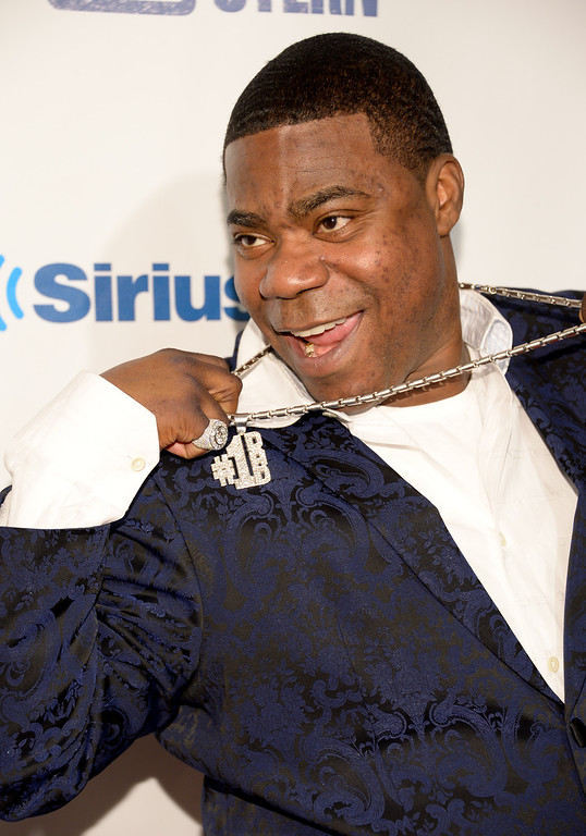 ". Tracy Morgan attends ""Howard Stern\'s Birthday Bash\"", presented by SiriusXM, at the Hammerstein Ballroom on Friday, Jan. 31, 2014 in New York.  (Photo by Evan Agostini/Invision/AP)"