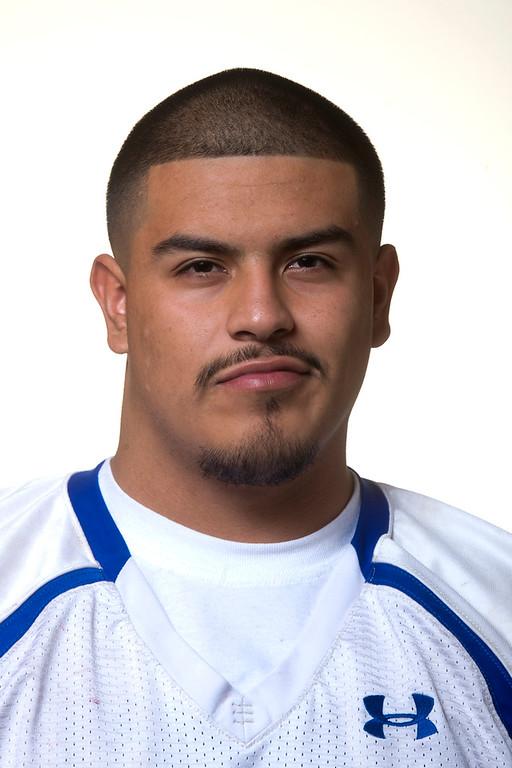 . Whittier Daily News All-area Jesus Verduzco of El Rancho High School football in Whittier on Thursday, Jan. 2, 2014. (Watchara Phomicinda/ Whittier Daily News)