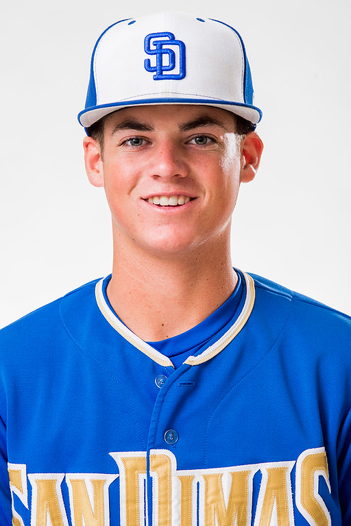 . San Dimas High\'s Peter Lambert has been selected for the SGV Tribune\'s All-area Baseball Team June 10, 2014.   (Staff photo by Leo Jarzomb/San Gabriel Valley Tribune)