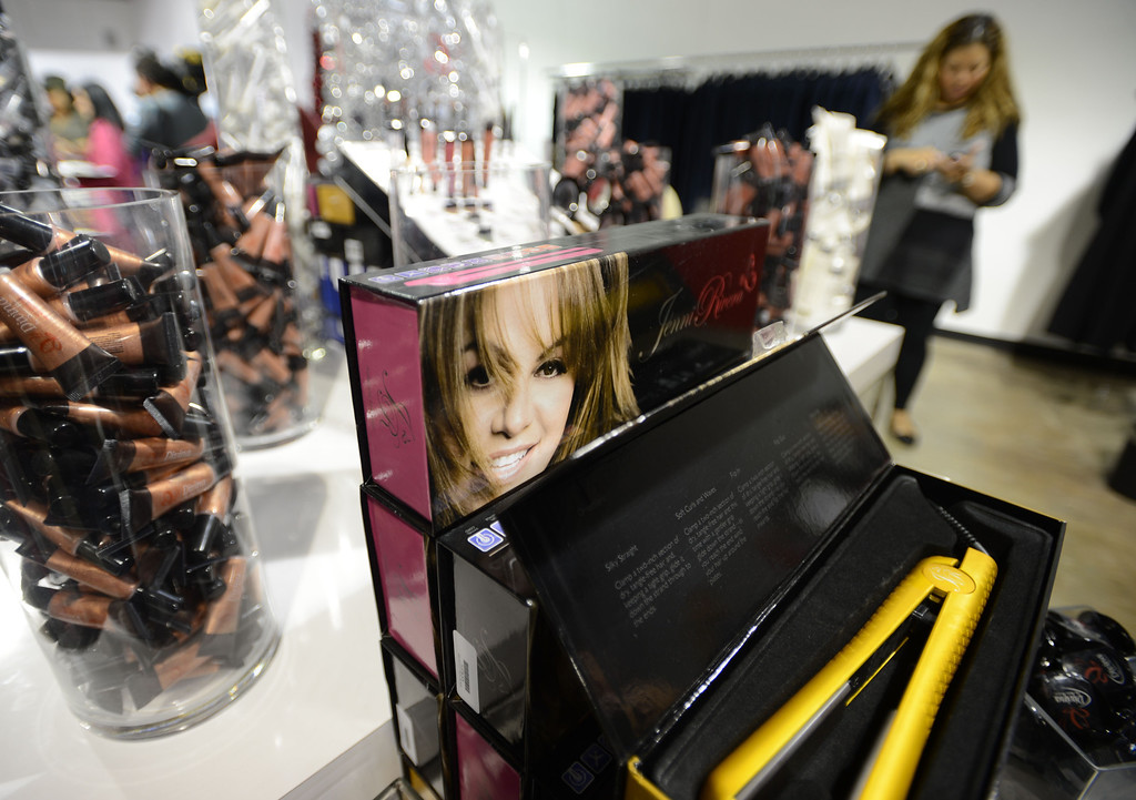 . Dec. 9 marks the one year anniversary of the death of  singer Jenni Rivera.  Many product and clothing lines are available Inside the Jenni Rivera Boutique in Panorama City.  Panorama City Calif., December 3, 2013. 