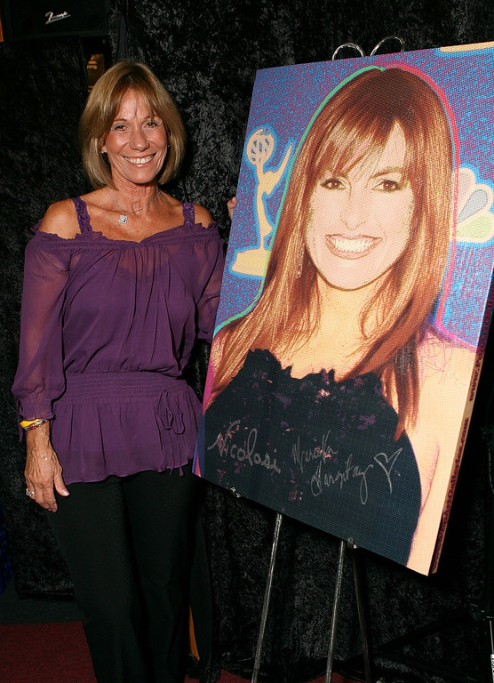 . Actress Ellen Hargitay attends the Stars for a Cause Charity Auction at the Hollywood Historical Museum on September 27, 2007 in Hollywood, California.  (Photo by Michael Buckner/Getty Images)