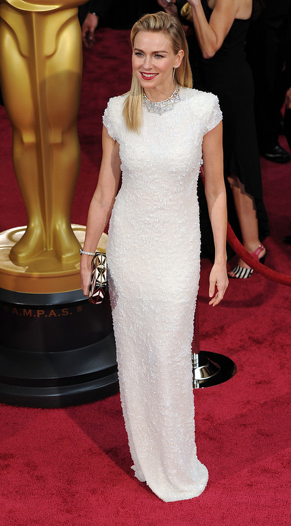 . Naomi Watts attends the 86th Academy Awards at the Dolby Theatre in Hollywood, California on Sunday March 2, 2014 (Photo by John McCoy / Los Angeles Daily News)