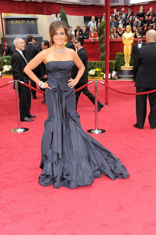 . Mariska Hargitay during the 82nd Academy Awards Sunday,  March 7, 2010, in the Hollywood section of Los Angeles. (AP Photo/Chris Pizzello)