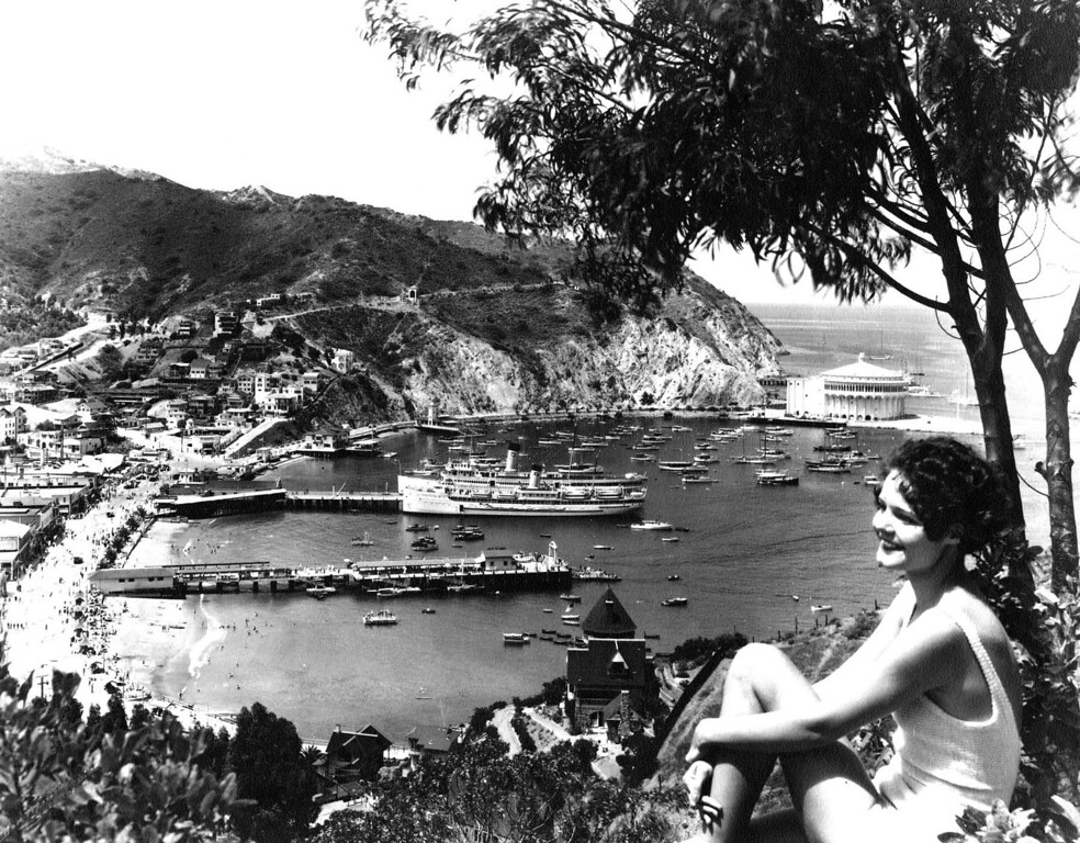 . Avalon Bay Girl 1930s Photo Courtesy Catalina Island Museum