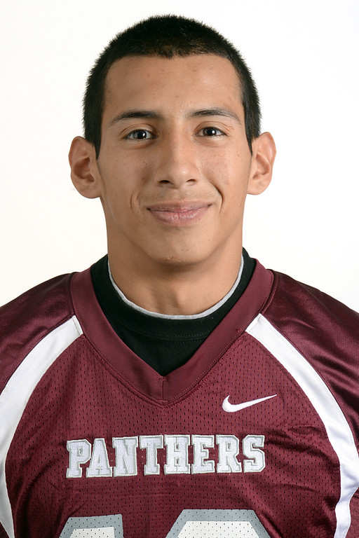 . Stephen Cansino from Rosemead High School was selected to the Pasadena Star-News All-Area football team on Monday December 16, 2013.  (Staff Photo by Keith Durflinger/Pasadena Star-News)