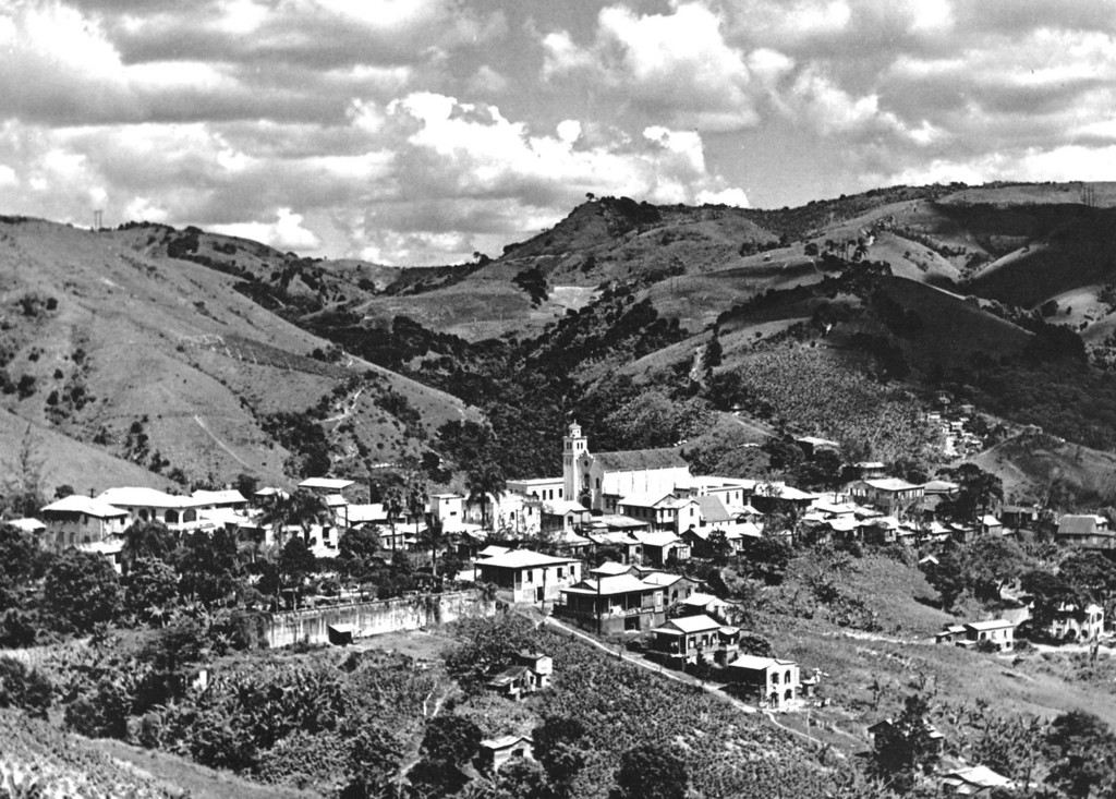 . The central mountain village of Barranquitas, Puerto Rico is seen in this December 1941 photo.   (AP Photo/Library of Congress, Jack Delano)