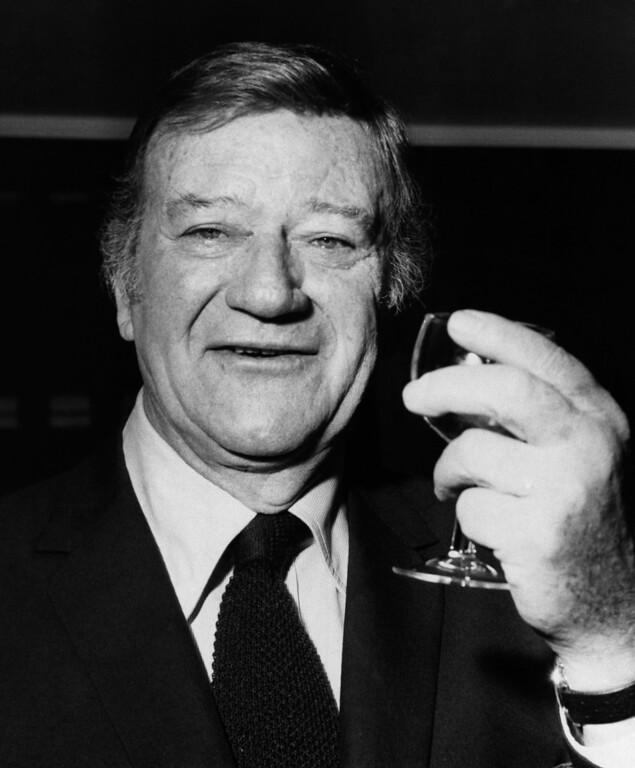 . 1973 Rose Parade grand marshal, American actor John Wayne,  (AP Photo)