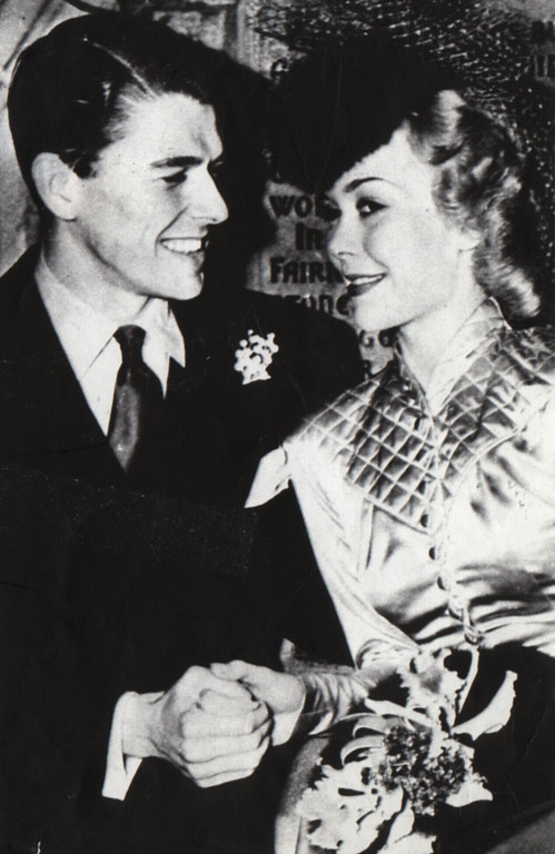 . Ronald Reagan married actress Jane Wyman in 1940. The marraige ended in divorce eight years later.   (Los Angeles Daily News file photo)