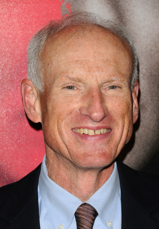 """. In this Nov. 4, 2009 file photo, actor James Rebhorn attends the premiere of \""""The Box\"""", in New York. Rebhorn passed away Friday, March 21, 2014, at his home in New Jersey. He was 65.  http://bit.ly/1opntmZ  (AP Photo/Peter Kramer, File)"""
