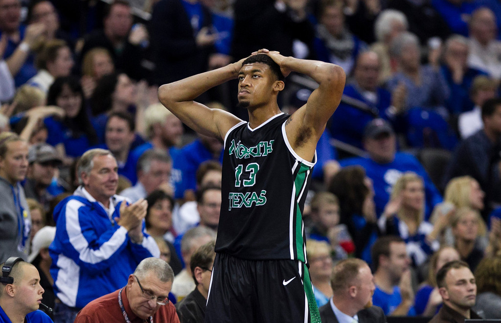 . <b>Tony Mitchell</b> <br />Forward, 6-8, 235. Averaged 13.0 points, 8.5 rebounds and 2.7 blocks as a sophomore last year at North Texas. Has a long wingspan and could play the 4, but prefers to play 3. Raw talent who runs well, can jump and crashes the boards. (AP Photo/Nati Harnik)