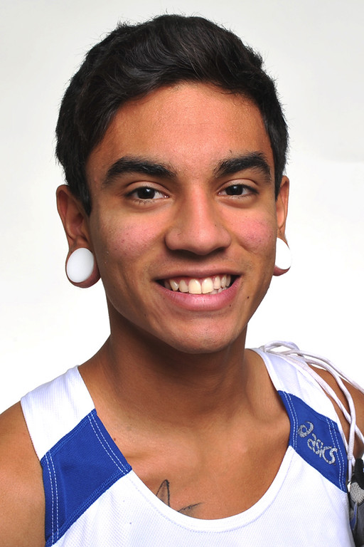 . Samuel Garcia from Arroyo High School was selected as the San Gabriel Valley Tribune All Area Boys Cross Country Runner of the Year on Tuesday January 15th, 2013. (SGVN/Staff Photo by Keith Durflinger)