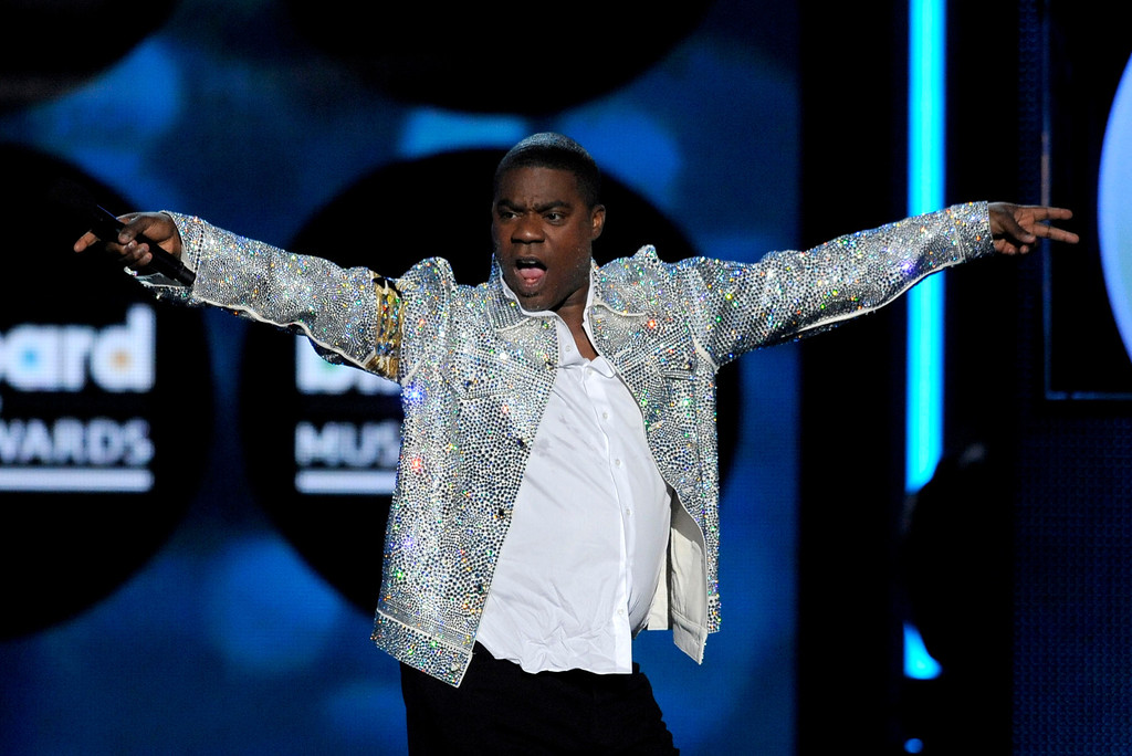 . Host Tracy Morgan speaks on stage at the Billboard Music Awards at the MGM Grand Garden Arena on Sunday, May 19, 2013 in Las Vegas. (Photo by Chris Pizzello/Invision/AP)