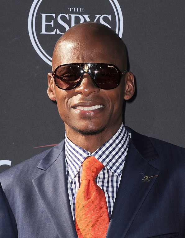 . NBA basketball player Ray Allen arrives at the ESPY Awards on Wednesday, July 17, 2013, at Nokia Theater in Los Angeles. (Photo by Jordan Strauss/Invision/AP)