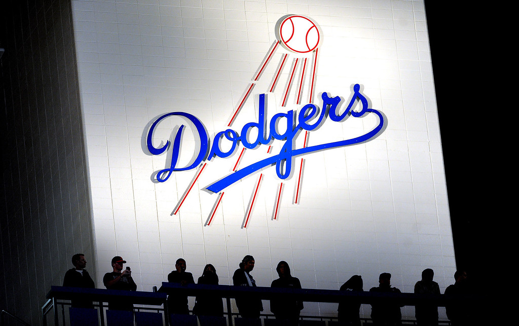 . Los Angeles Dodgers defeat the Milwaukee Brewers 7-5 during their baseball game against the Milwaukee Brewers on Friday, April 26, 2013 in Los Angeles.  (Keith Birmingham/Pasadena Star-News)