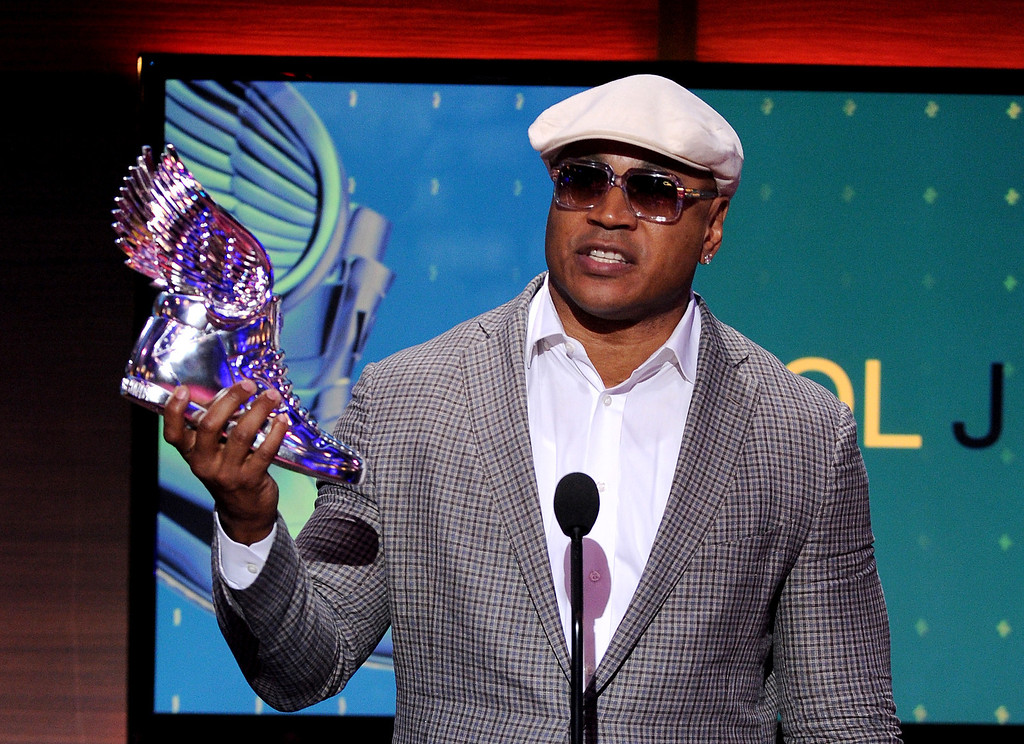 . Nominee LL Cool J accepts an award onstage at the 2013 Do Something Awards, on Wednesday, July 31, 2013 in Hollywood, Calif. (Photo by Frank Micelotta/Invision/AP Images)