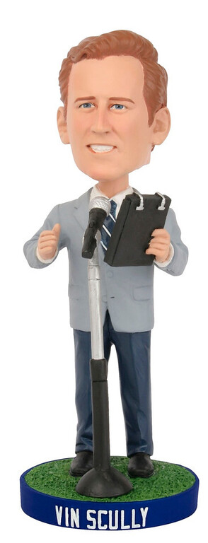 . Vin Scully Bobblehead.  (Photo courtesy of the L.A. Dodgers)