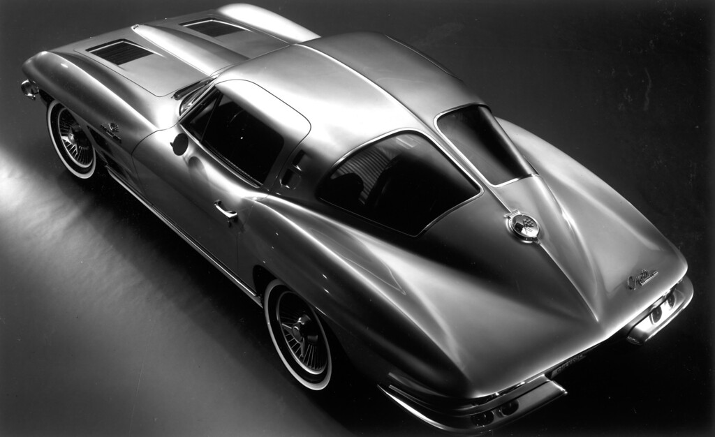 . Memorable in Corvette history was the 1963 Corvette Sting Ray with an all-new design based on the 1959 Bill Mitchell race car of the same name.  Daily News file photo