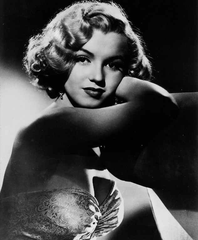 . This undated photo shows actress Marilyn Monroe. In late 2012, the FBI has released a new version of files it kept on Monroe that reveal the names of some of her acquaintances who had drawn concern from government officials and members of her entourage over their suspected ties to communism. (AP Photo, File)