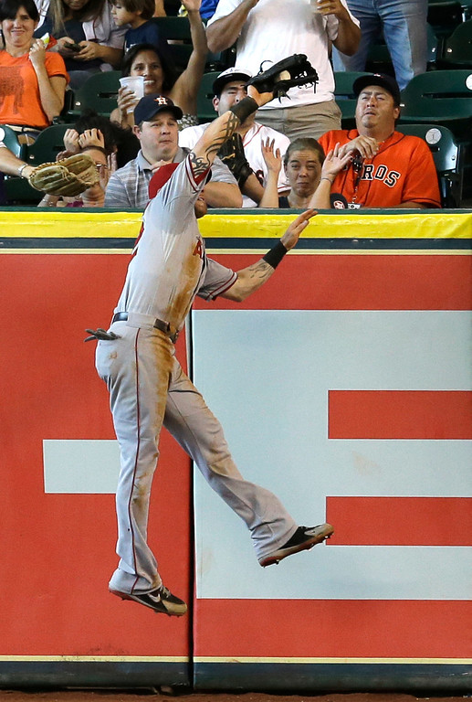 . JUNE 29: Hamilton doubled and scored a run as the Angels won 7-2 at Houston. (AP Photo/David J. Phillip)
