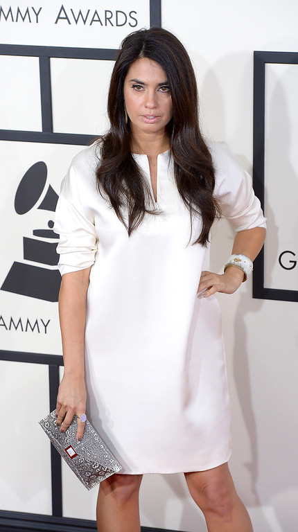 . Emily Lazar arrives at the 56th Annual GRAMMY Awards at Staples Center in Los Angeles, California on Sunday January 26, 2014 (Photo by David Crane / Los Angeles Daily News)