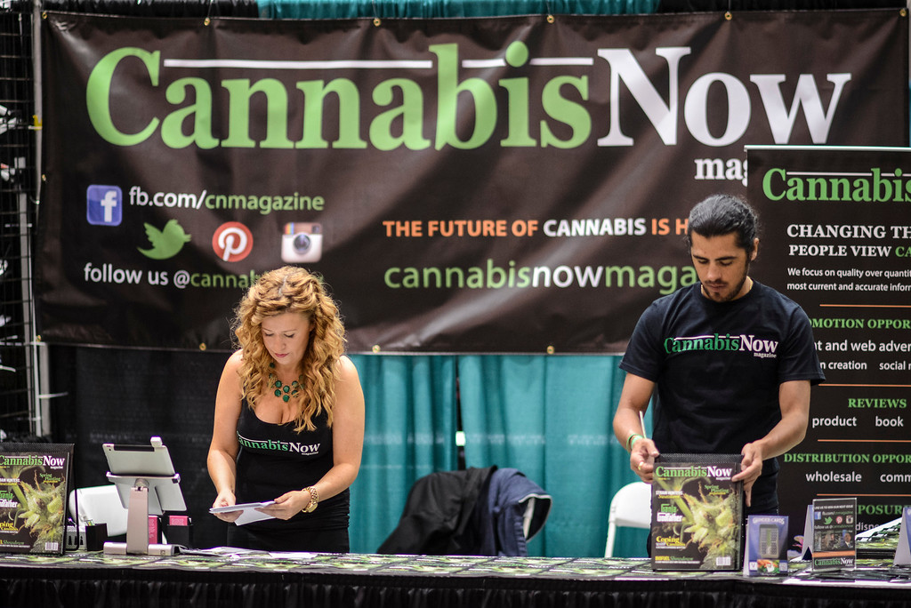 . Everything Marijuana related at Hempcon Marijuana convention at the Convention Center in Los Angeles.   Photo by David Crane/Los Angeles Daily News