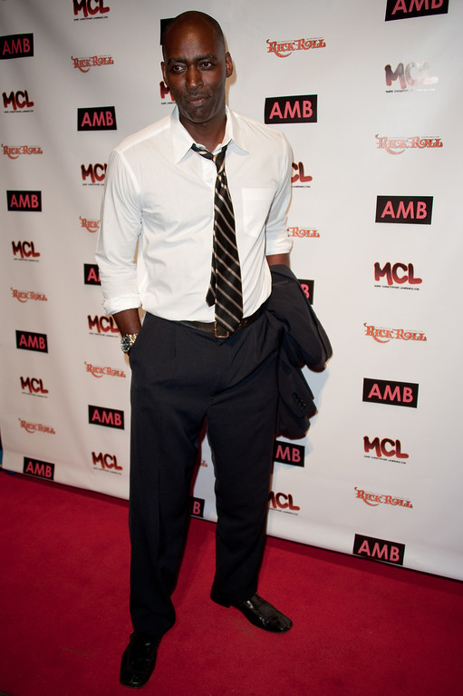 . Michael Jace attends WordTheatre presents Storytales at Ford Amphitheatre on Saturday, Oct, 6, 2012, in Los Angeles, California. (Photo by Richard Shotwell/Invision/AP)
