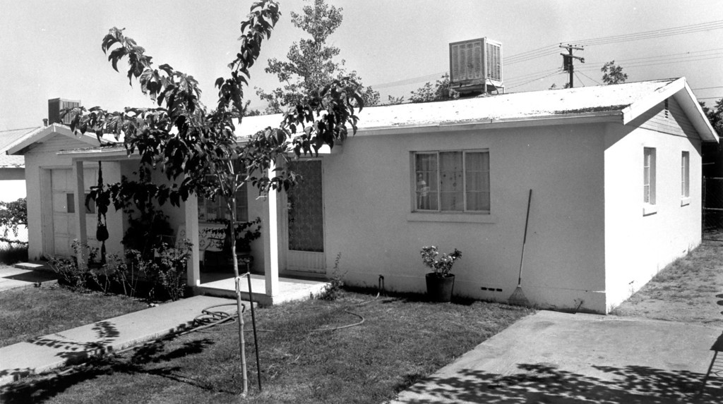. The Ramirez home on Corozal Street in El Paso, TX. Richard Ramirez visited the home, but probably never lived there.  (Daily News file photo)