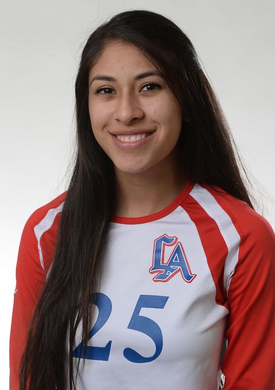 . Los altos\'s Marisa Rojo All Area Volleyball players in West Covina, Calif., on Thursday, Dec. 5, 2013.   (Keith Birmingham Pasadena Star-News)